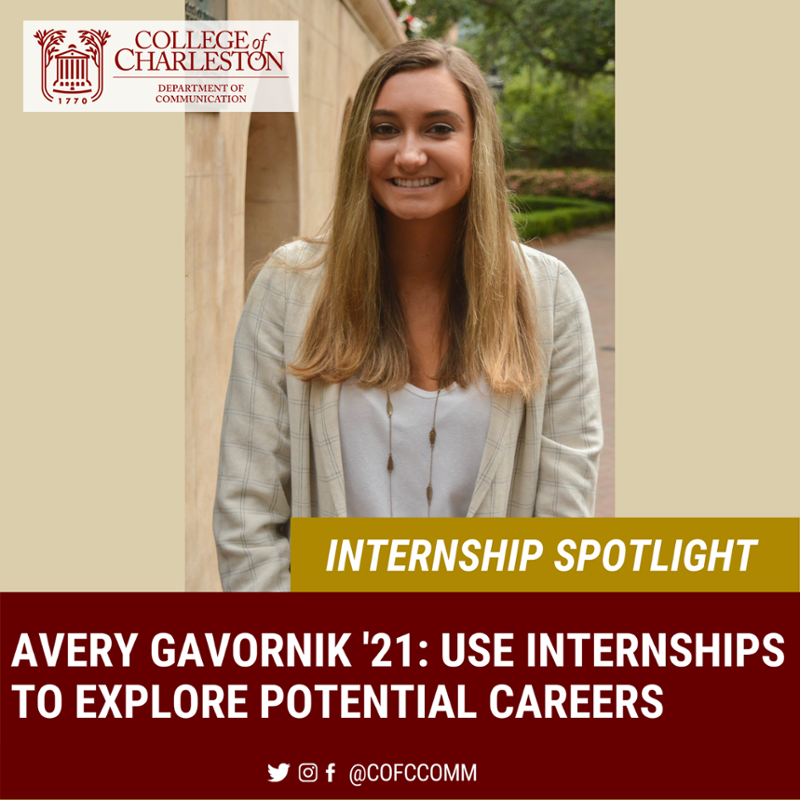 Internship Spotlight with Avery Gavornik