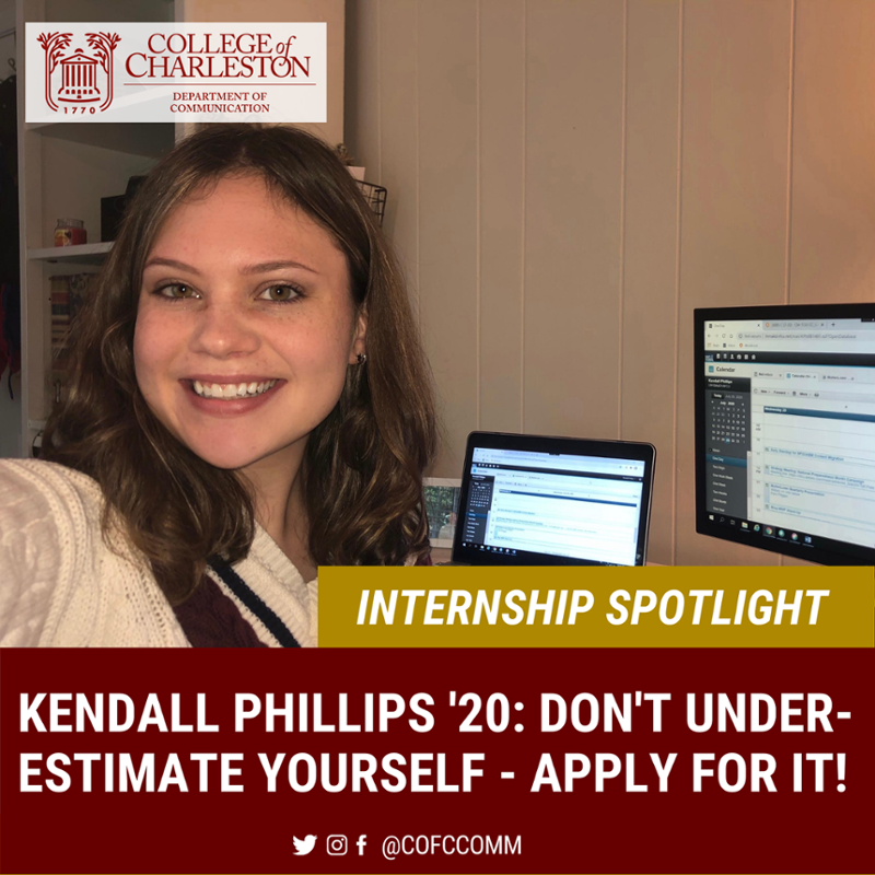 Internship Spotlight with Kendall Phillips