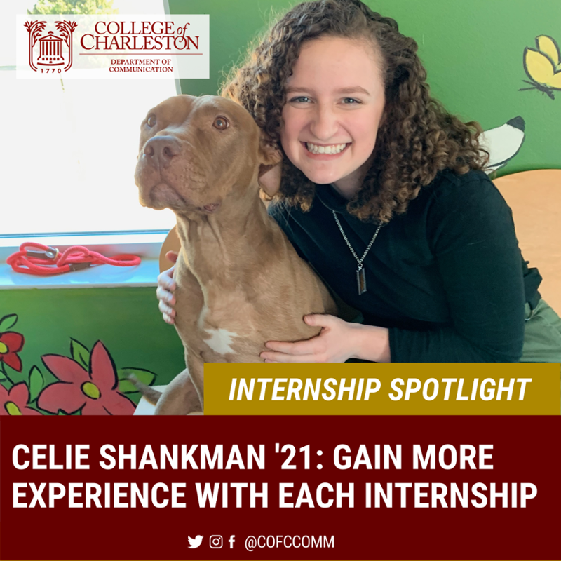 Internship Spotlight with Celie Shankman