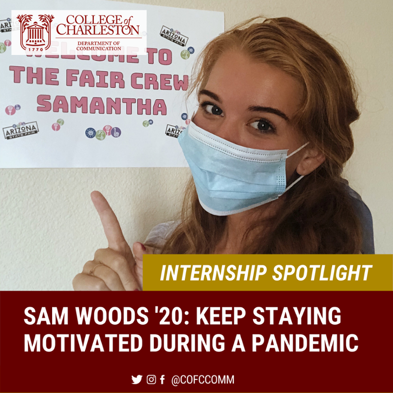 Internship Spotlight with Sam Woods